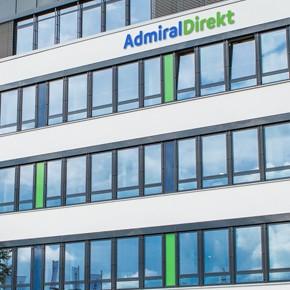 IVerwaltungsgebäude der AdmiralDirekt in Köln.