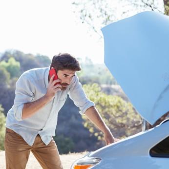 Mit einer Schutzbriefversicherung erhalten Sie schnelle Hilfe bei Panne und Unfall.